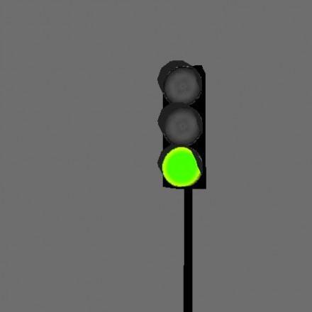 успевала желтый мигающий сигнал светофора гиф для малыша