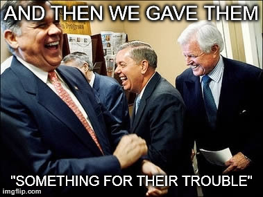 "Men Laughing | AND THEN WE GAVE THEM ""SOMETHING FOR THEIR TROUBLE"" 