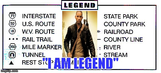 "Credit to XenusianSoldier for the idea... | ""I AM LEGEND"" 