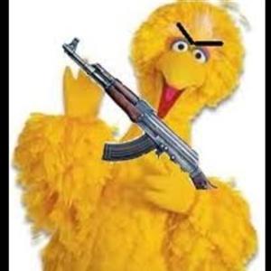 High Quality Angry Big Bird Blank Meme Template