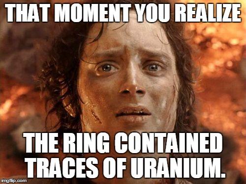 Lord Of The Rings Meme Uranium