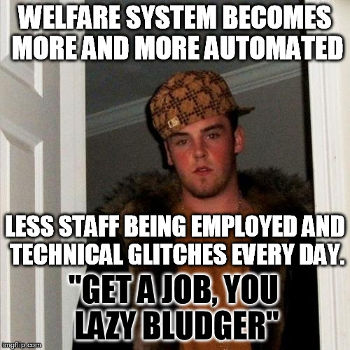 "Looking forward to ""Goodbye, Centrelink"" 
