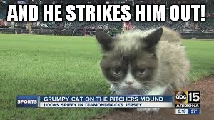 AND HE STRIKES HIM OUT! | made w/ Imgflip meme maker