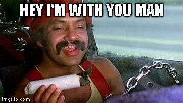 HEY I'M WITH YOU MAN | made w/ Imgflip meme maker