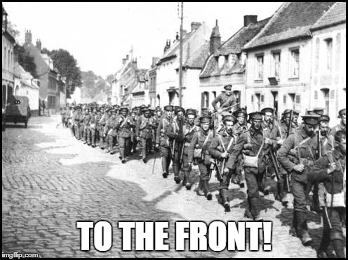 TO THE FRONT! | made w/ Imgflip meme maker