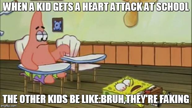 Funny Memes Kid Friendly Spongebob : Spongebob down imgflip
