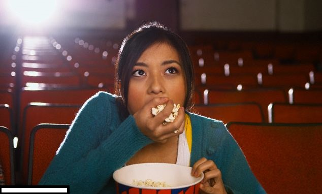 Image result for eating popcorn memes