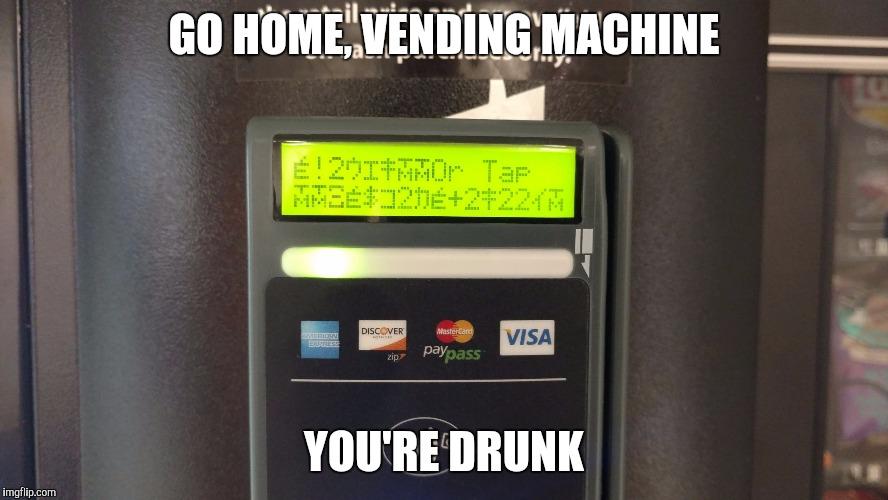 vending machine for home