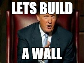 Image result for trump wall meme