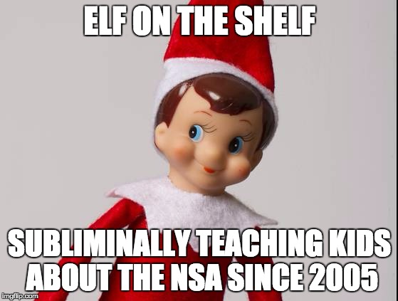 christmas meme elf on the shelf