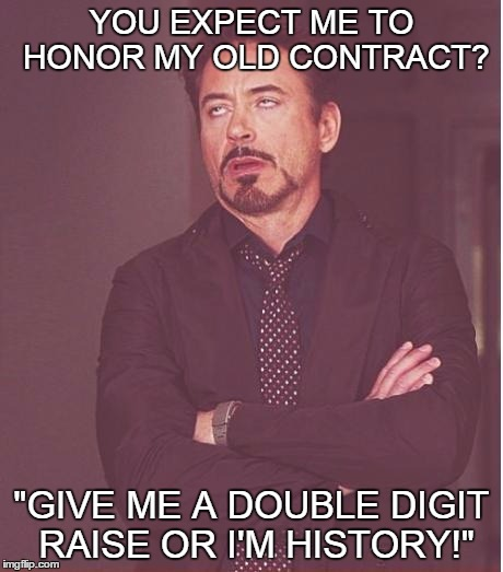 "KEVIN GETS DOWN TO BUSINESS! | YOU EXPECT ME TO HONOR MY OLD CONTRACT? ""GIVE ME A DOUBLE DIGIT RAISE OR I'M HISTORY!"" 