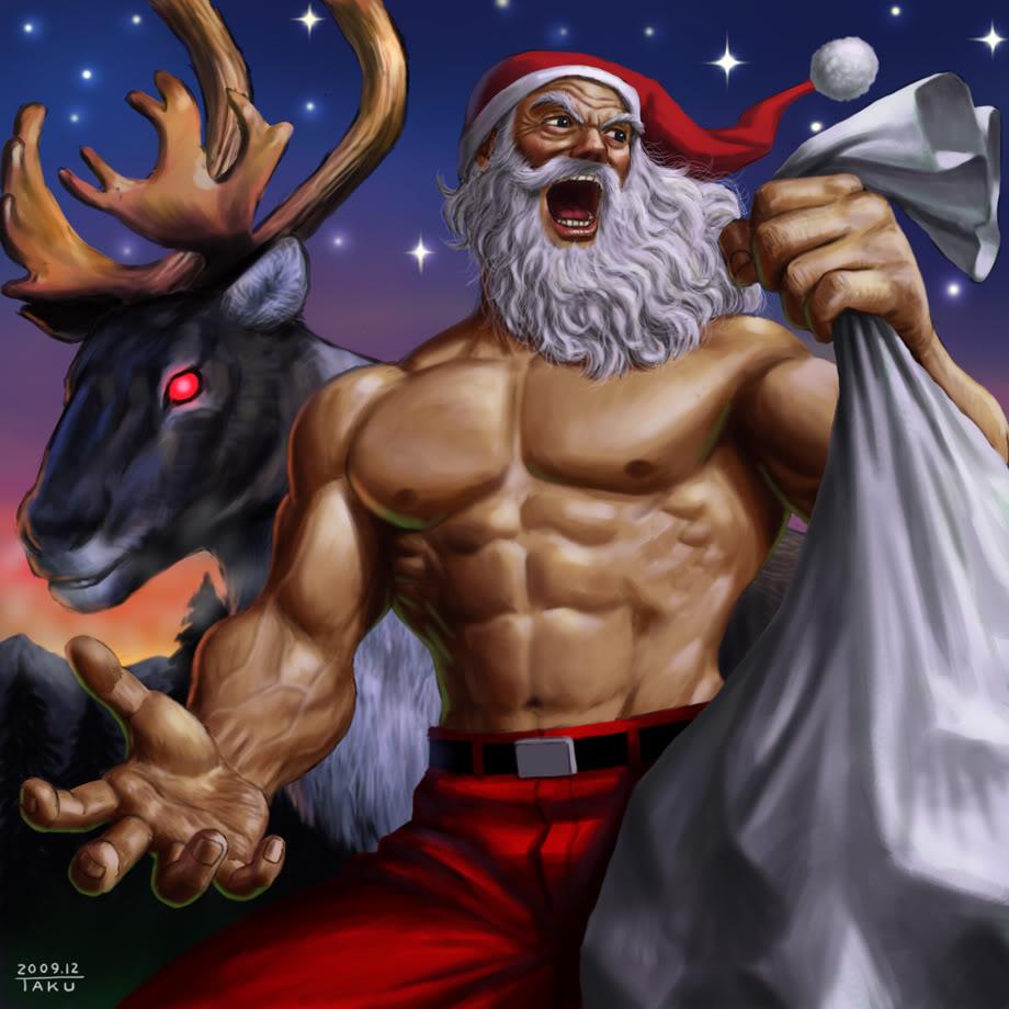Image result for warrior santa