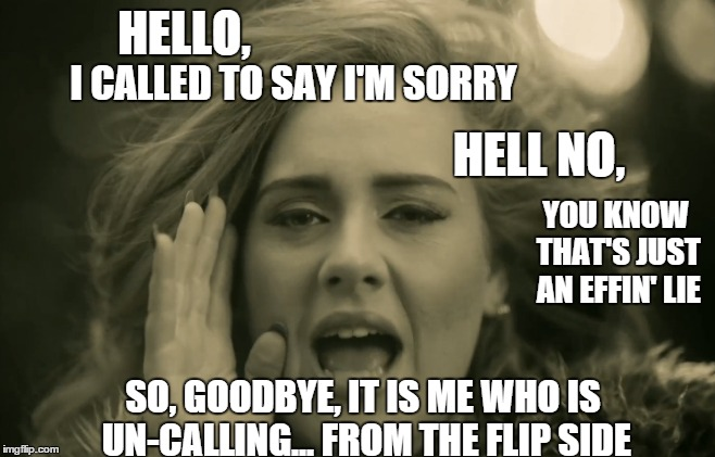 Funny Meme To Say Hello : The flip side imgflip