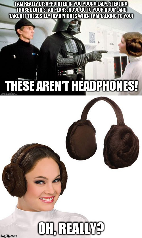 vnwkk image tagged in princess leia headphones imgflip