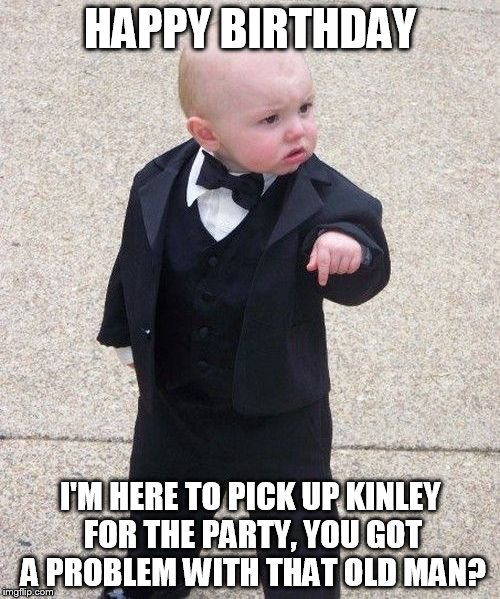 Baby Godfather Meme Imgflip