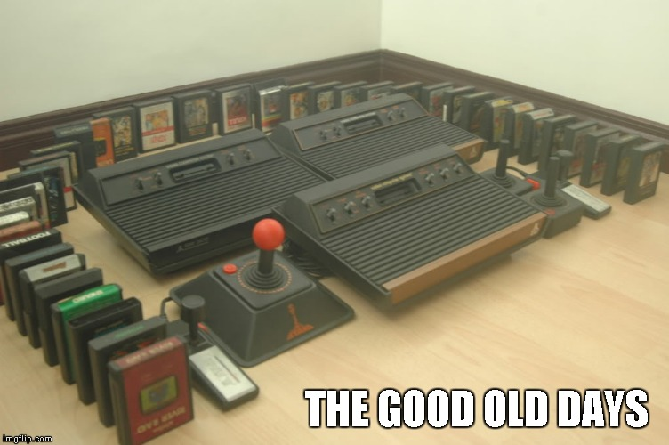 THE GOOD OLD DAYS | made w/ Imgflip meme maker