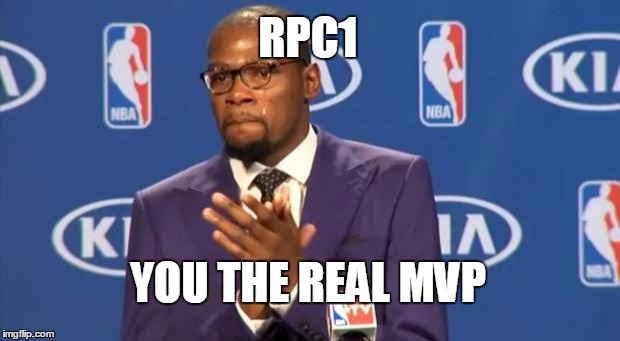 the first guy i recall who actually liked my memes | RPC1 YOU THE REAL MVP | image tagged in memes,you the real mvp,rpc1,nba | made w/ Imgflip meme maker