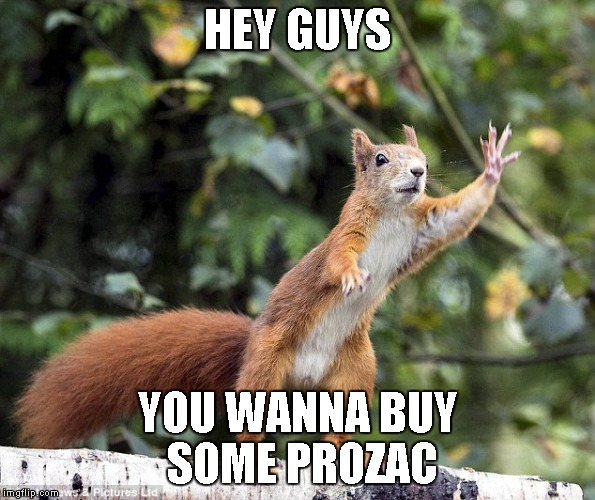 HEY GUYS YOU WANNA BUY SOME PROZAC | made w/ Imgflip meme maker