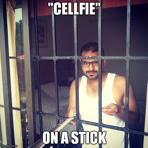 """CELLFIE"" ON A STICK 