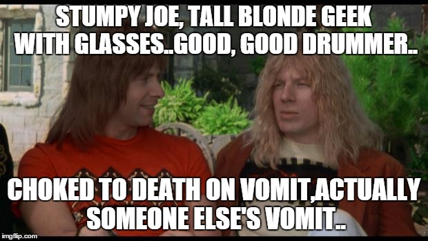 spinal tap drummers death Memes & GIFs - Imgflip