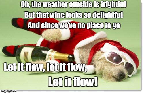 Image result for christmas wine meme