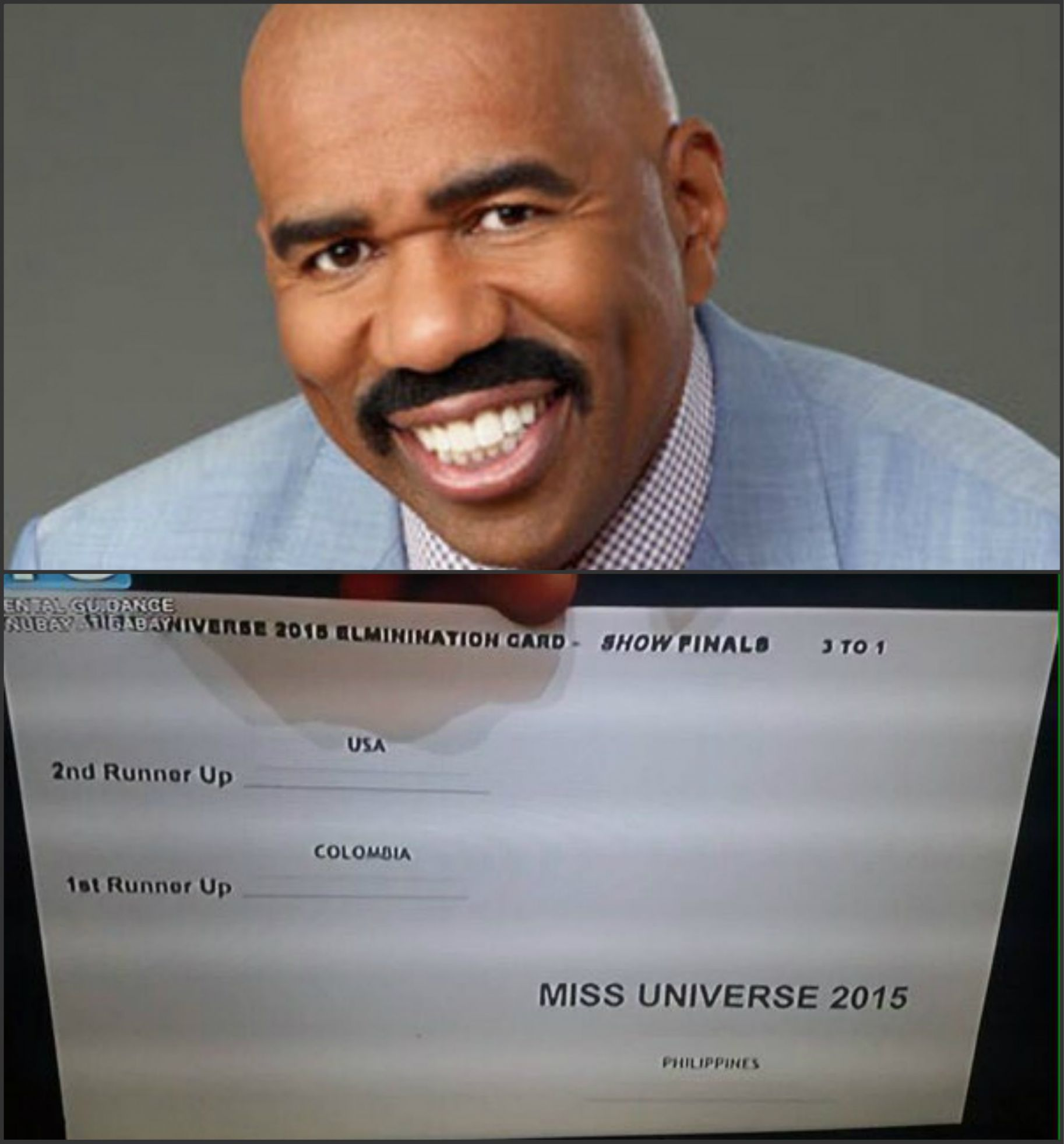 Miss Universe 2015 Blank Template Imgflip