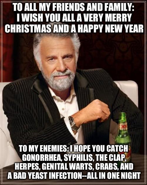 w5j0j yeah yeah merry christmas, joyous kwanzaa, happy hanukkah and