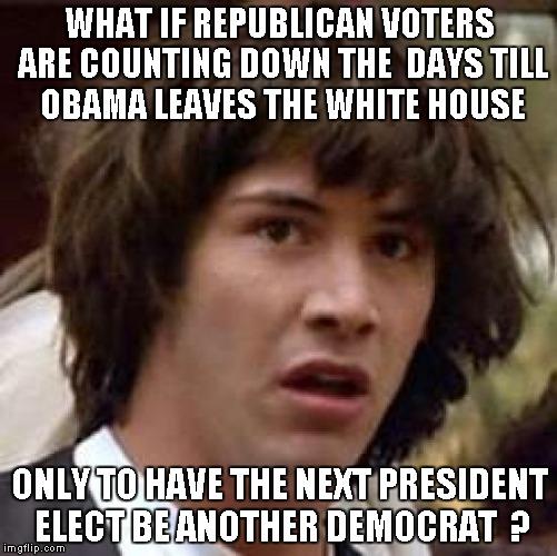 w5nek conspiracy keanu meme imgflip,White Obama Meme
