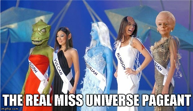THE REAL MISS UNIVERSE PAGEANT | made w/ Imgflip meme maker