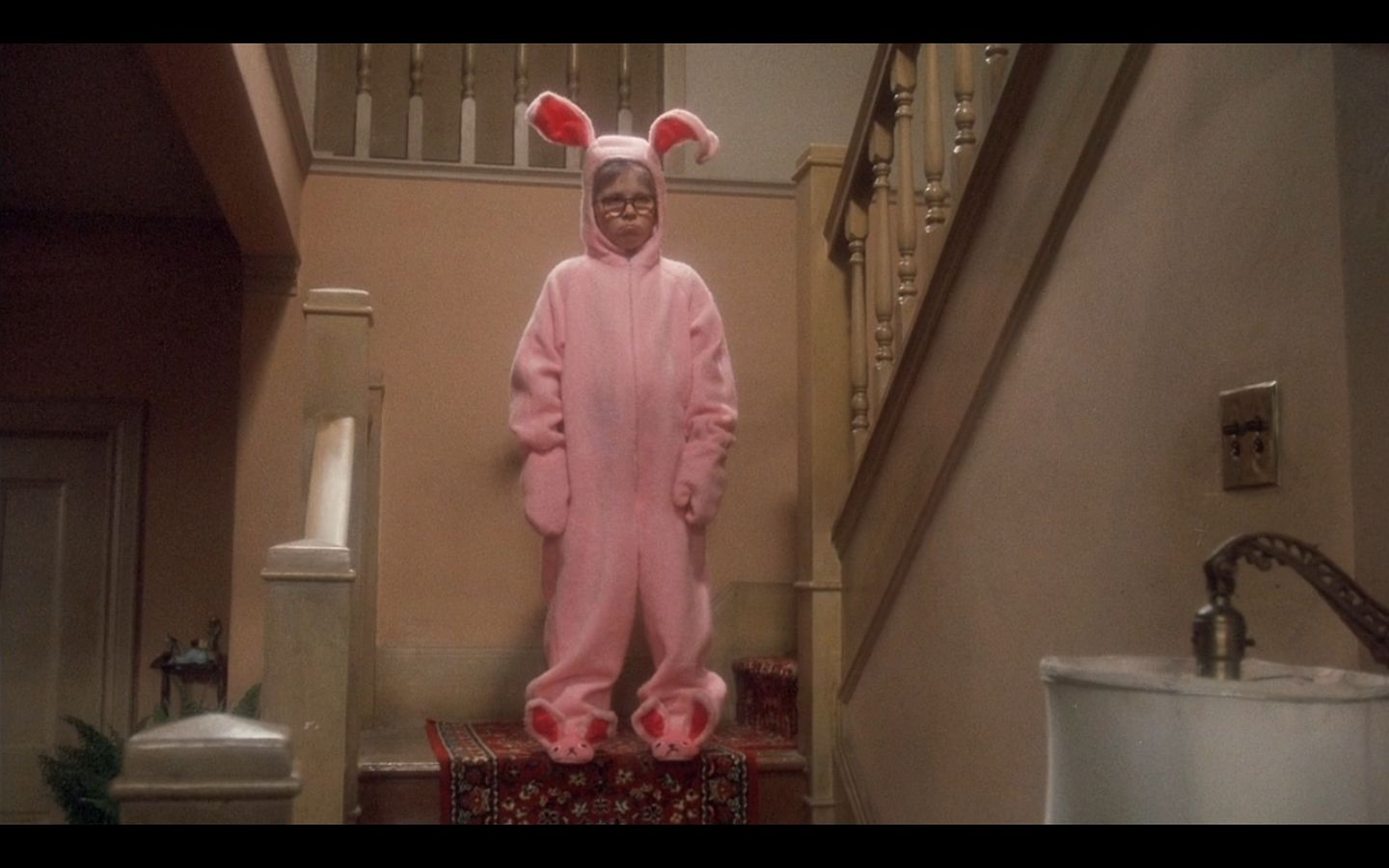 high quality a christmas story deranged easter bunny blank meme template