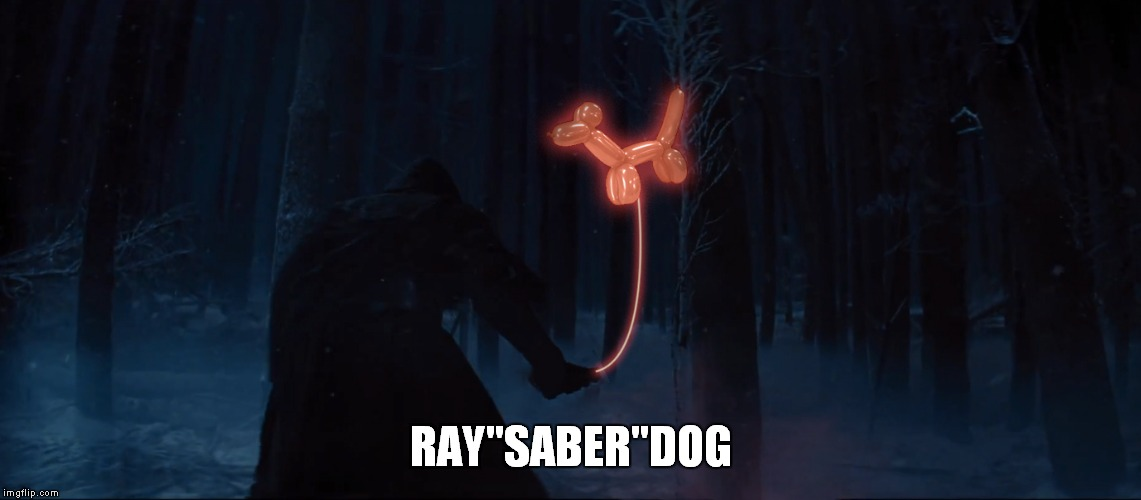 "RAY""SABER""DOG 
