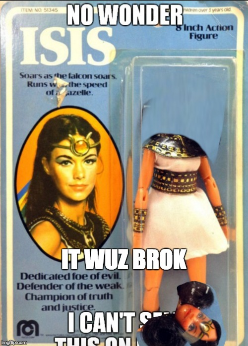 IT WUZ BROK | made w/ Imgflip meme maker