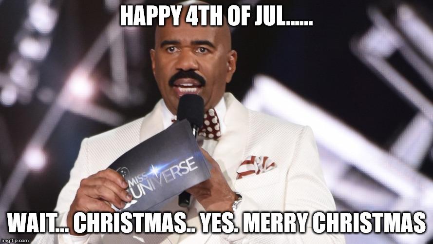 Merry Christmas In July Meme.10 Hilarious Steve Harvey Memes For Christmas 2016