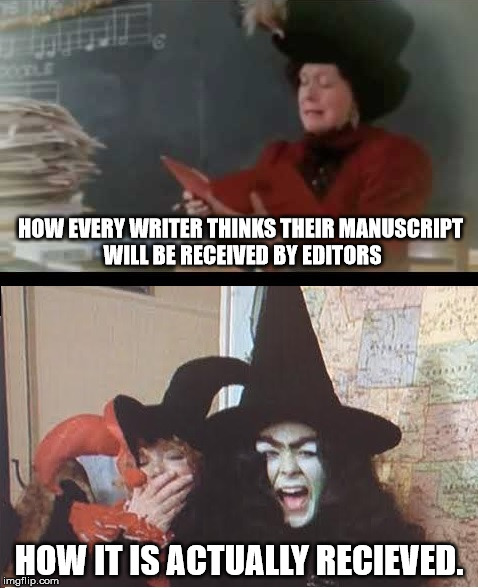 HOW EVERY WRITER THINKS THEIR MANUSCRIPT WILL BE RECEIVED BY EDITORS HOW IT IS ACTUALLY RECIEVED. | image tagged in writer problems,christmas story,writers,authors | made w/ Imgflip meme maker