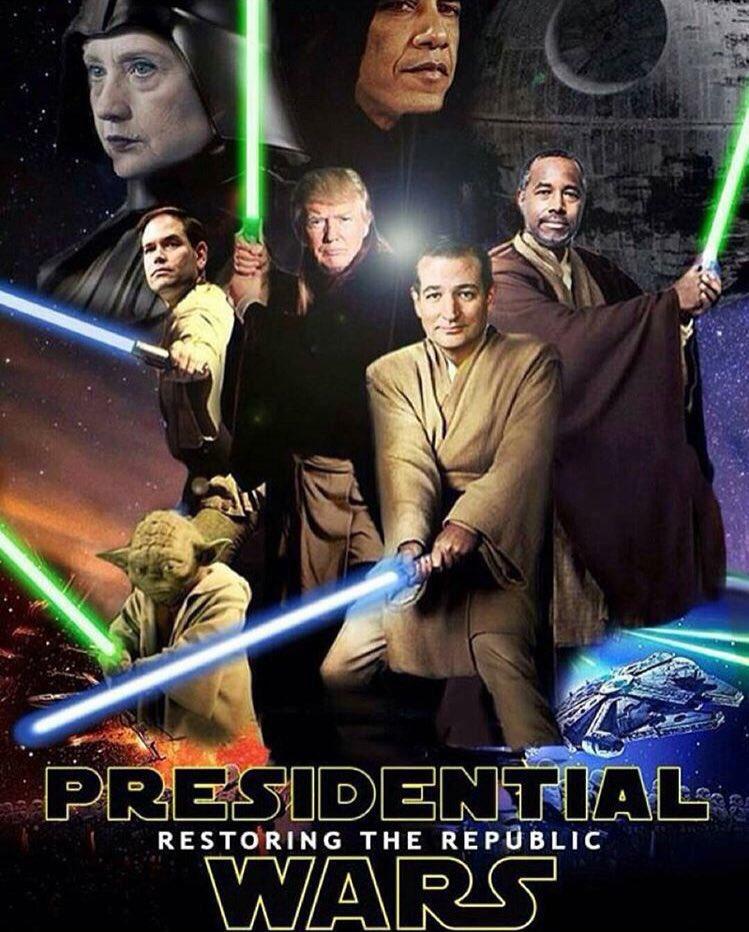 Republican Gop Star Wars Blank Template Imgflip