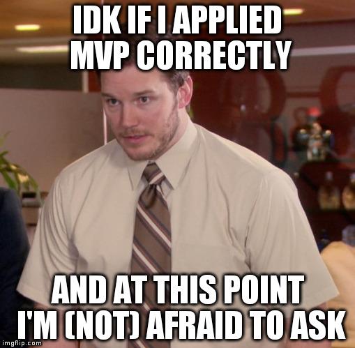 Did I do it OK?