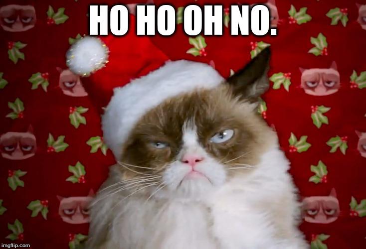 Funny Grumpy Cat Christmas Memes.Grumpy Cat Christmas Imgflip