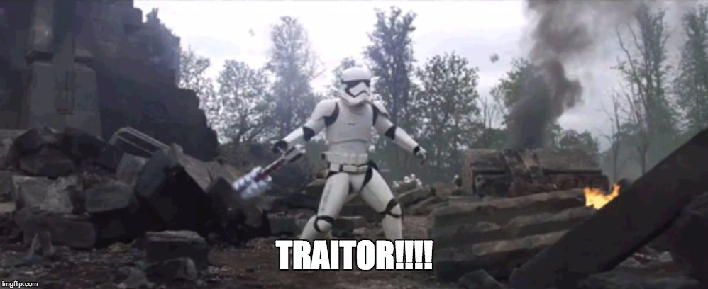 Traitor! | TRAITOR!!!! | image tagged in traitor | made w/ Imgflip meme maker