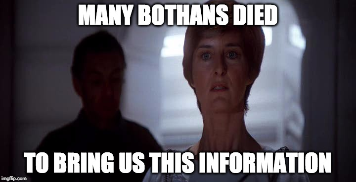 many bothans died imgflip
