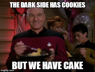 THE DARK SIDE HAS COOKIES BUT WE HAVE CAKE | made w/ Imgflip meme maker