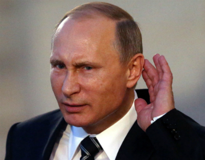 High Quality Putin Can't Hear You Blank Meme Template