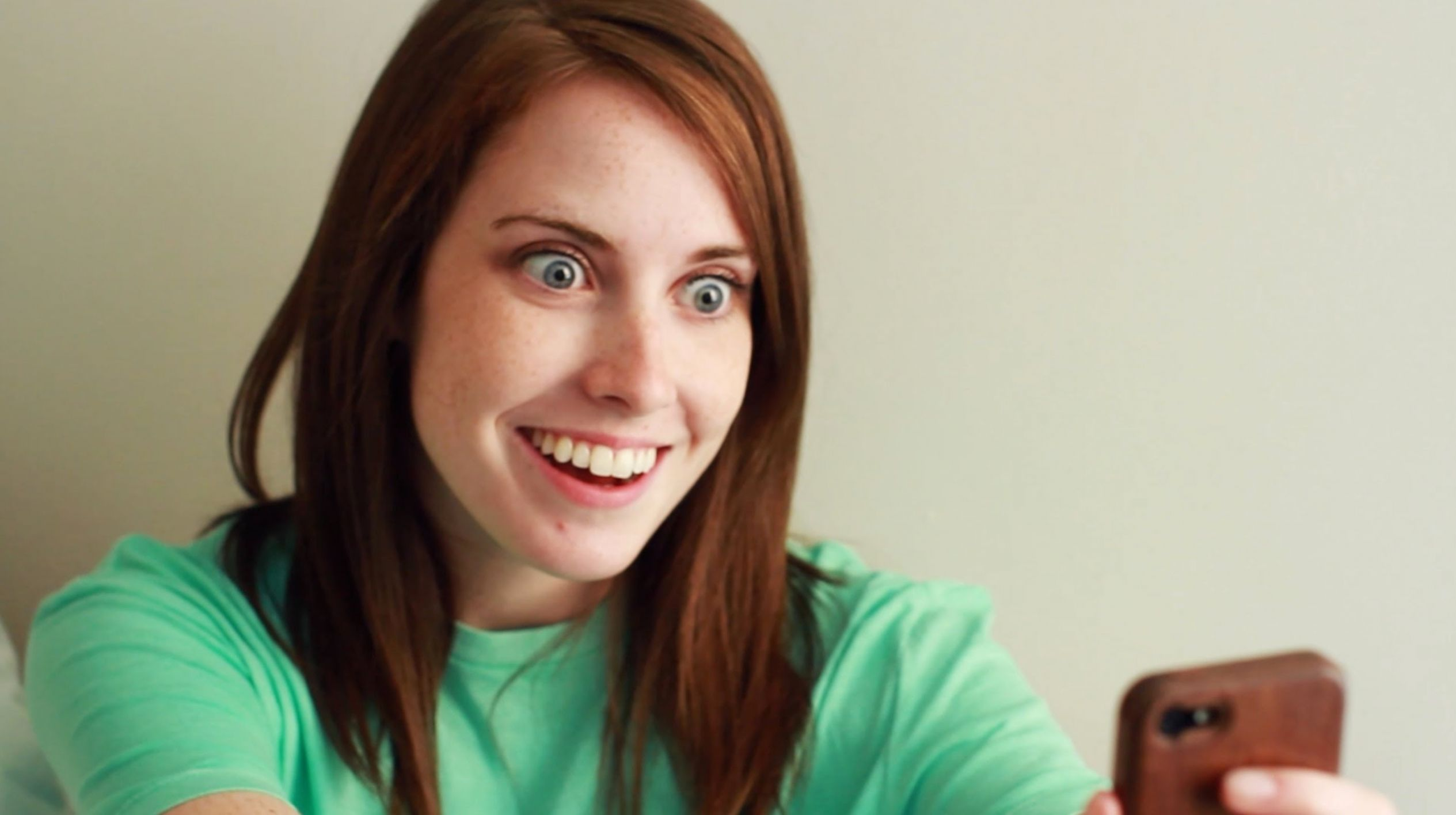 wj8x2 overly attached girlfriend blank template imgflip,Overly Attached Girlfriend Meme Generator