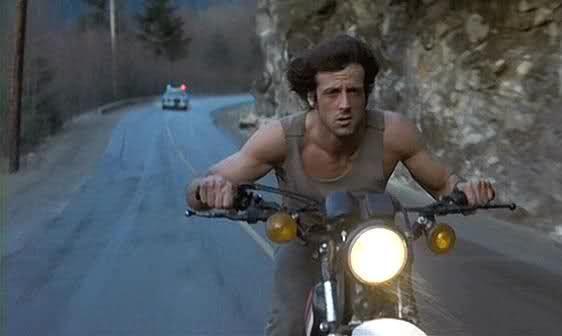 Rambo on motorcycle Blank Template - Imgflip