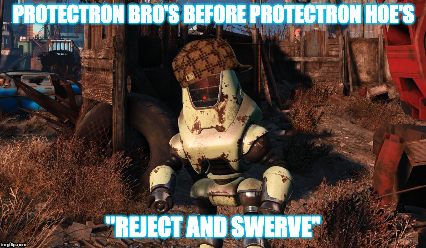 "Protectron Bro's 4 Life | PROTECTRON BRO'S BEFORE PROTECTRON HOE'S ""REJECT AND SWERVE"" 