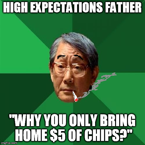 """High"" Expectations Hungry Father 
