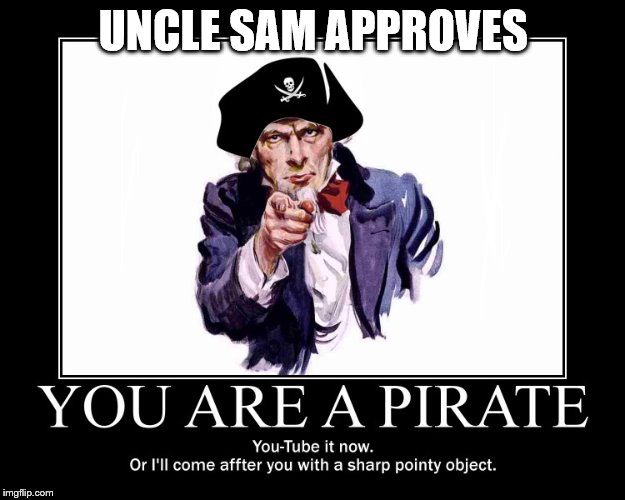 UNCLE SAM APPROVES | made w/ Imgflip meme maker