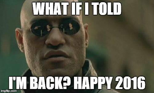 Funny Memes For New Years 2016 : Matrix morpheus meme imgflip