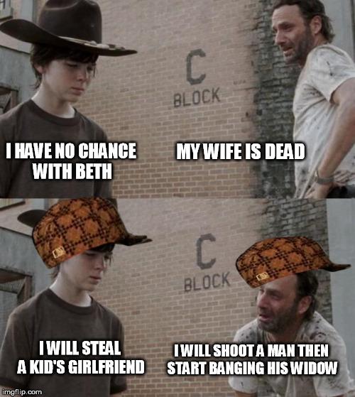 wpw0v rick and carl latest memes imgflip,Carl Rick Meme