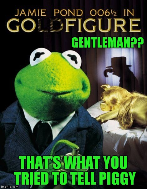 GENTLEMAN?? THAT'S WHAT YOU TRIED TO TELL PIGGY | made w/ Imgflip meme maker