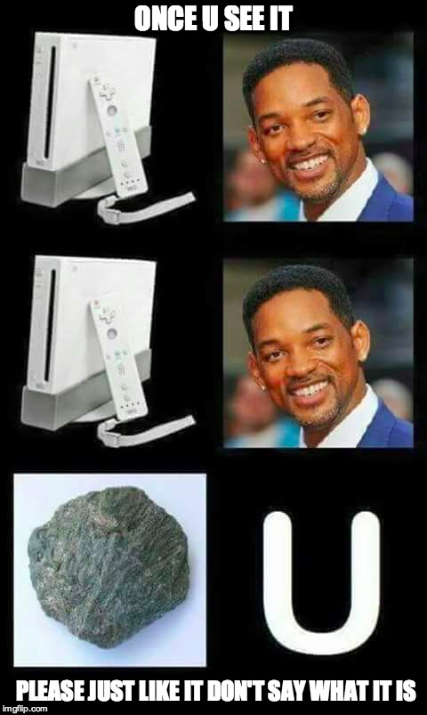 For The Love Of Queen | ONCE U SEE IT PLEASE JUST LIKE IT DON'T SAY WHAT IT IS | image tagged in will smith,wii,funny,puzzle | made w/ Imgflip meme maker